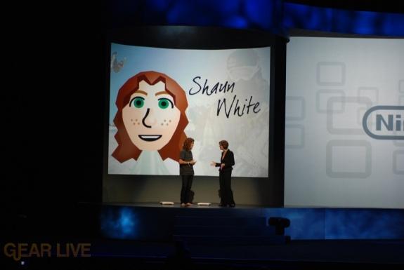 Nintendo E3 08: Shaun White Mii