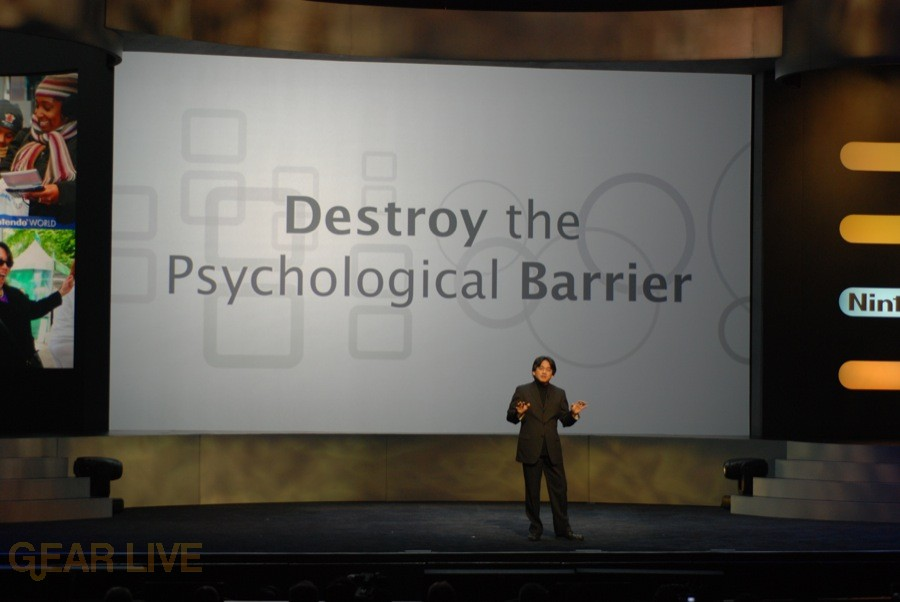 Nintendo E3 08: Destroy Phsychological Barrier