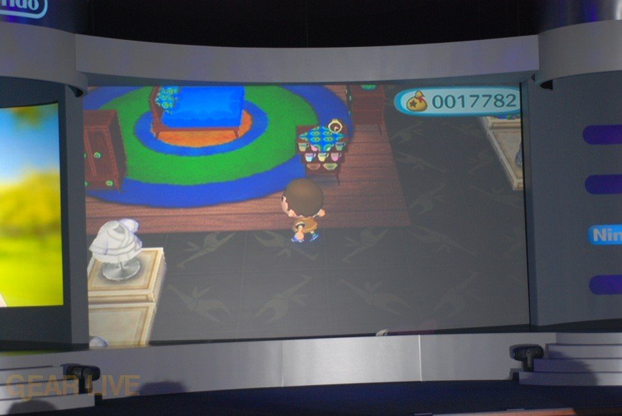 Nintendo E3 08: Animal Crossing City Folk screenshot 2