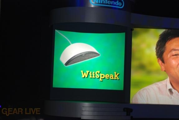Nintendo E3 08: WiiSpeak microphone 2