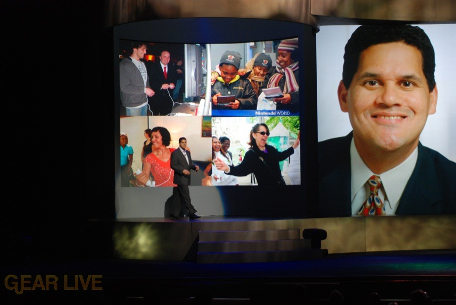 Nintendo E3 08: Reggie Fils-Aime enters