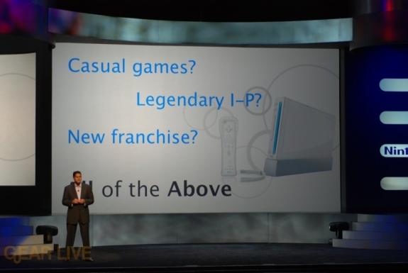 Nintendo E3 08: Target market