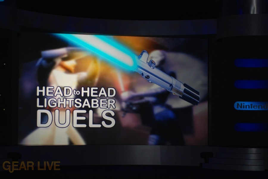 Nintendo E3 08: Head-to-head Lightsaber Duels