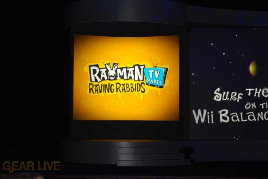 Nintendo E3 08: Rayman Raving Rabbids TV