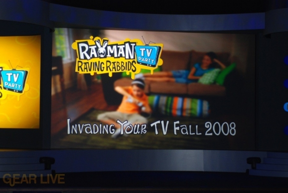 Nintendo E3 08: Rayman Raving Rabbids TV this fall