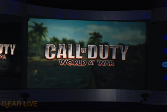 Nintendo E3 08: Call of Duty World of War