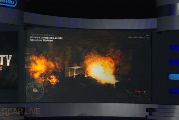 Nintendo E3 08: Call of Duty World of War screenshot