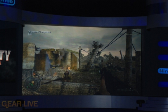 Nintendo E3 08: Call of Duty World of War screenshot 2
