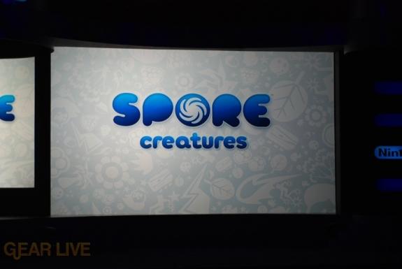 Nintendo E3 08: Spore Creatures