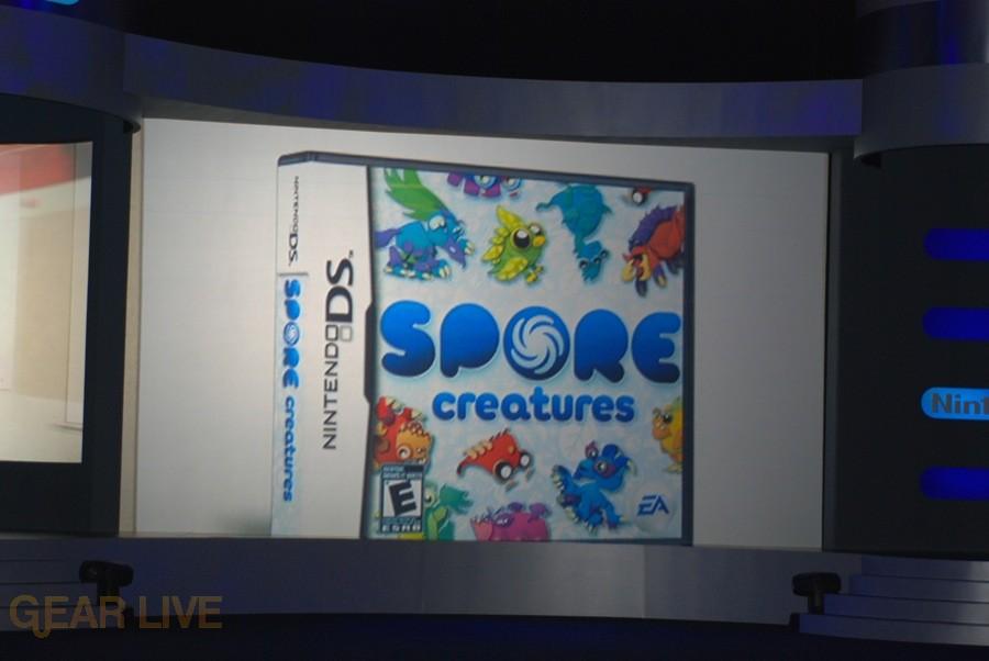 Nintendo E3 08: Spore Creatures 2