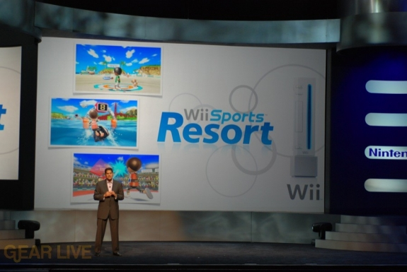 Nintendo E3 08: Wii Sports Resort