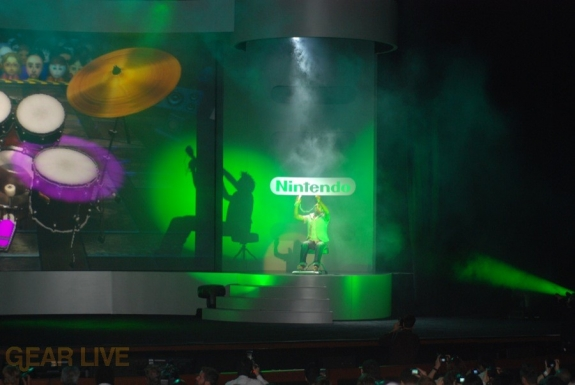 Nintendo E3 08: Wii Music Drums 2