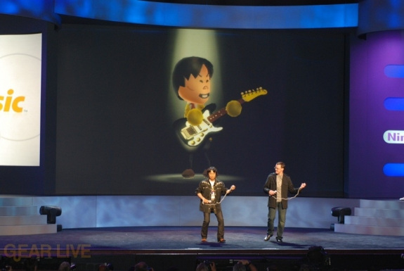 Nintendo E3 08: Wii Music Guitar