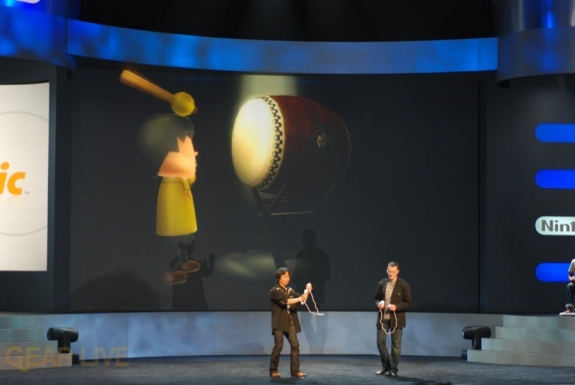 Nintendo E3 08: Wii Music Percussion