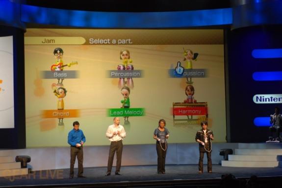 Nintendo E3 08: Wii Music Multiplayer 2
