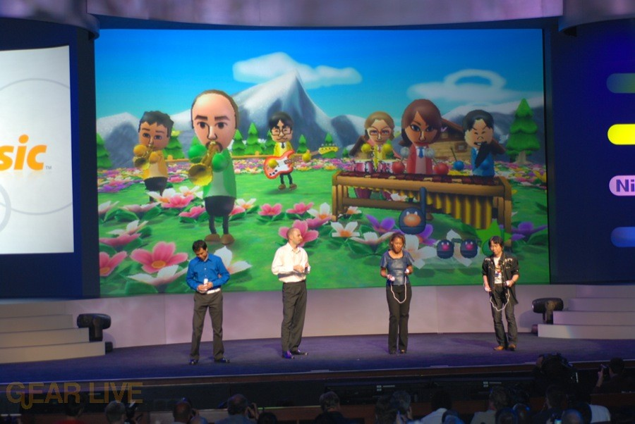 Nintendo E3 08: Wii Music Multiplayer 3