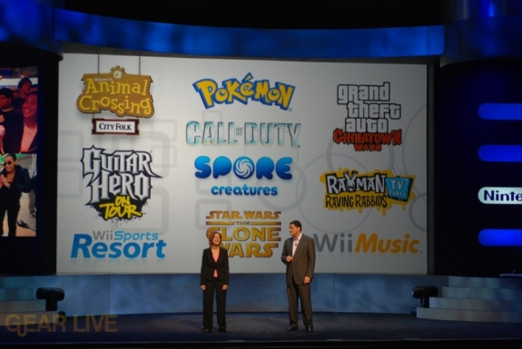 Nintendo E3 08: Briefing Announcement Finale