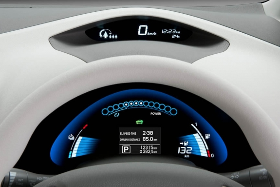 Nissan LEAF Speedometer