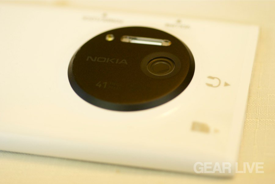 Nokia Lumia 1020 rear camera