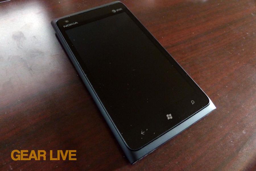 Nokia Lumia 900 front