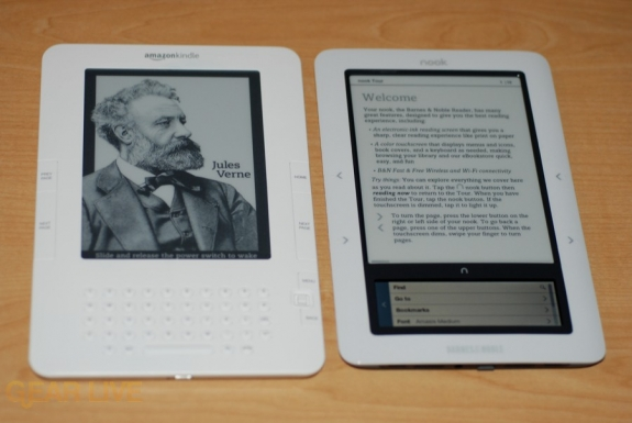 nook kindle comparison