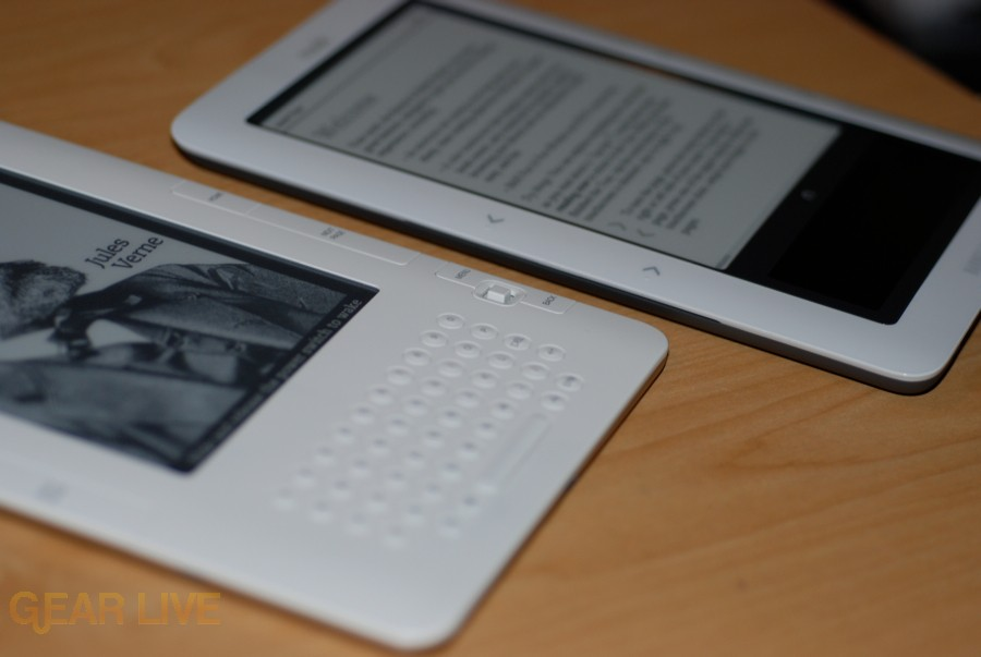 nook and Kindle together