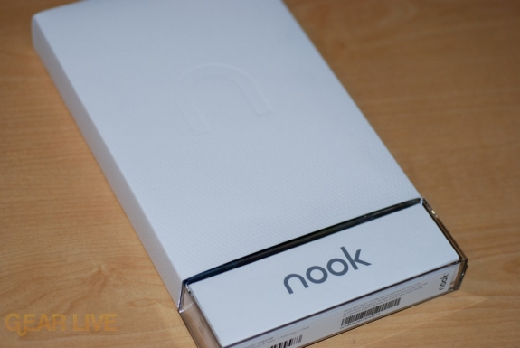 Barnes & Noble nook packaging, Nook logo
