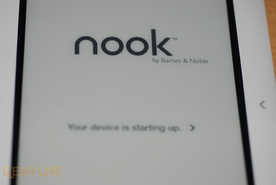 Another nook startup screen