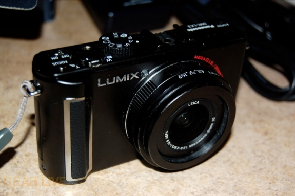 Panasonic Lumix LX3 front