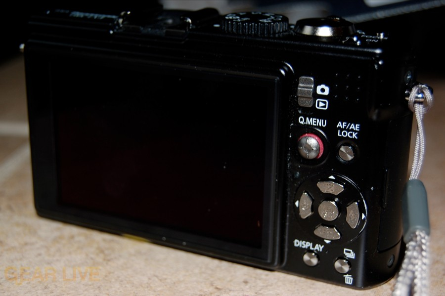 Panasonic Lumix LX3 back