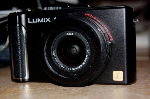 Panasonic Lumix LX3 lens