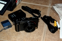 Panasonic Lumix LX3 unboxed