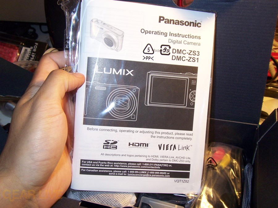 Panasonic Lumix ZS3 Instruction Manual