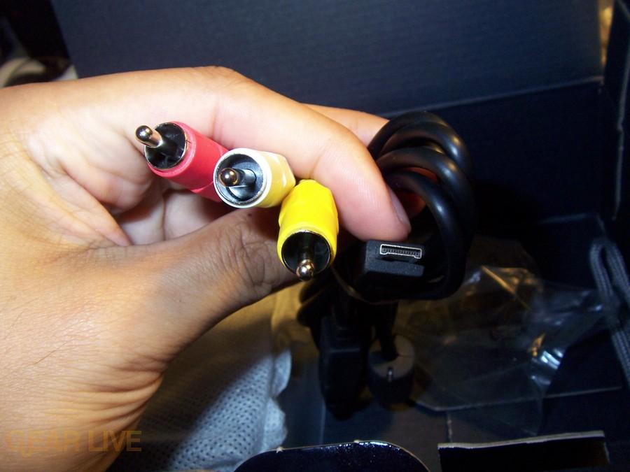 Panasonic Lumix ZS3 A/V cables