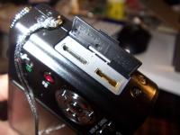 Panasonic Lumix ZS3 IO ports
