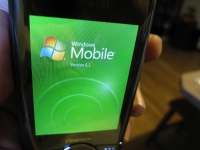Pantech Matrix Pro Windows Mobile 6.1 logo