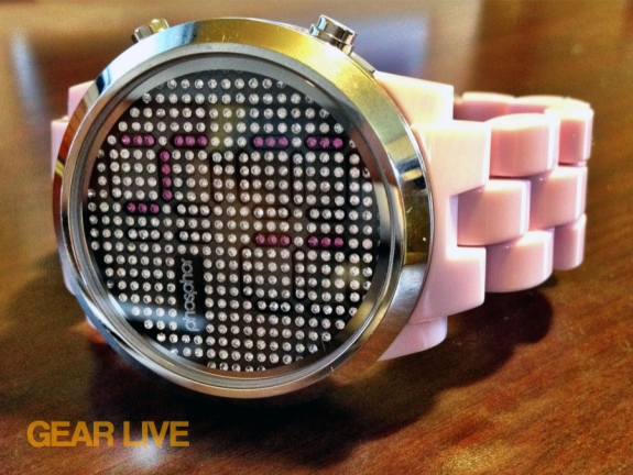 Phosphor Appear watch pink bracelet