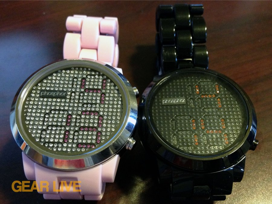 Phosphor Appear men and women watches