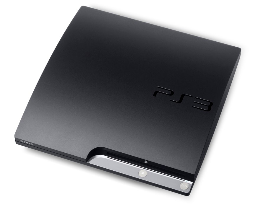 The PS3 Slim - Bird's Eye View