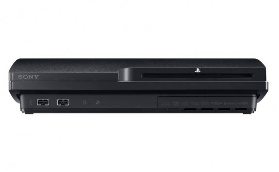 Front of the PS3 Slim