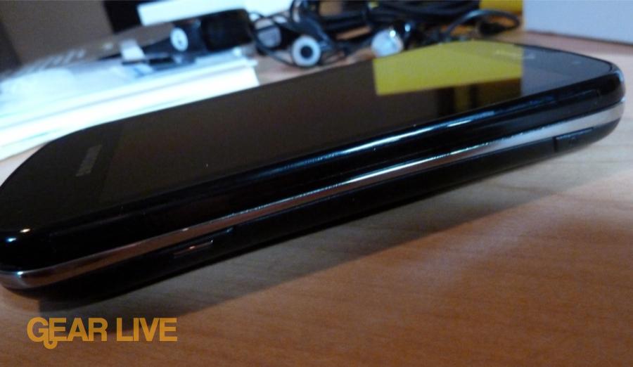 Samsung Epic 4G side