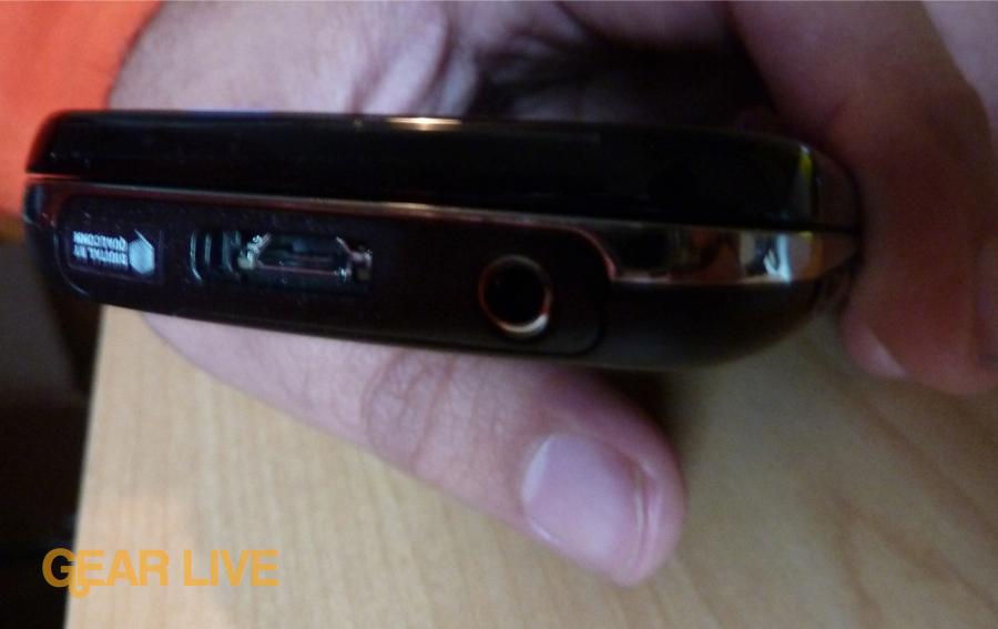 Samsung Epic 4G top
