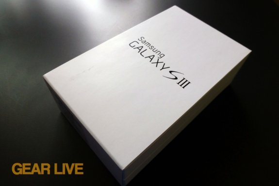 Samsung Galaxy S III box