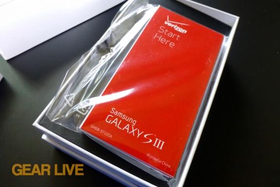Samsung Galaxy S III instruction manual