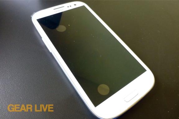 Samsung Galaxy S III powered off