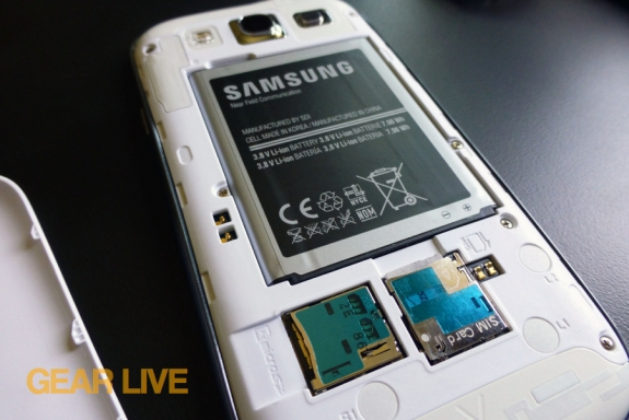 Samsung Galaxy S III battery review