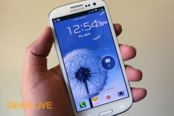 Samsung Galaxy S III giveaway