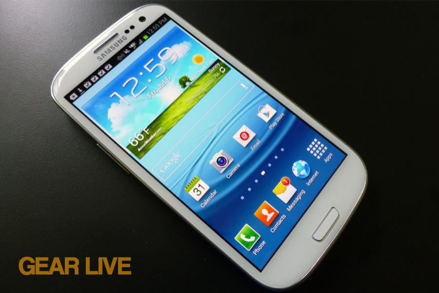 Samsung Galaxy S III Verizon LTE smartphone