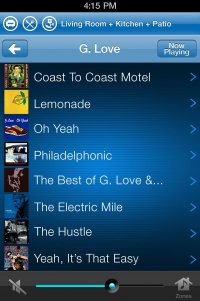 Sonos iPhone: Album View