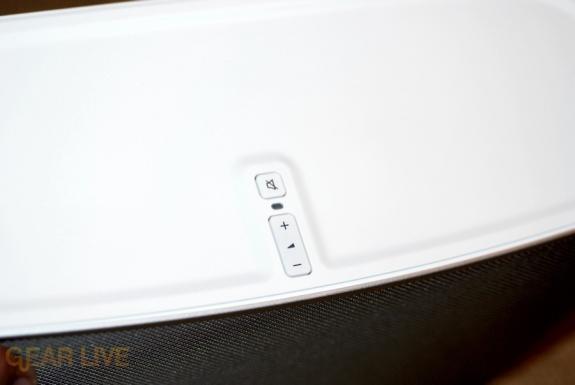 Sonos S5 volume control